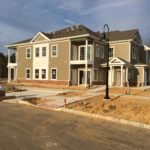 First Apartment Building Nears Completion at Cornerstone at Lacey
