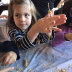 Preschoolers at Temple Sharey Tefilo-Israel Get Hands-On about Passover Matzoh