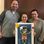 TSTI Fifth-Grade Families Enjoy Creative Expression at Family Portrait Workshop with Israeli Artist, Hanoch Piven
